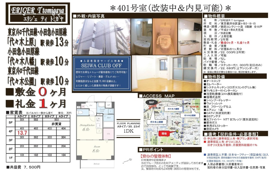 f:id:yoyogiuehararealestate:20180123232230j:plain
