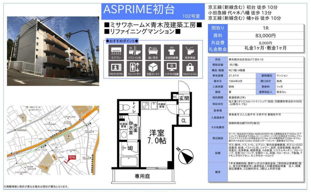 f:id:yoyogiuehararealestate:20180125111542p:plain