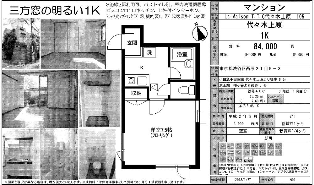 f:id:yoyogiuehararealestate:20180127102626j:plain