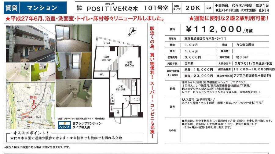 f:id:yoyogiuehararealestate:20180201105025j:plain