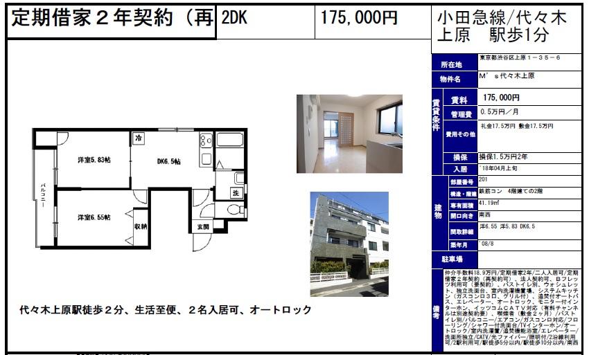 f:id:yoyogiuehararealestate:20180228120631j:plain