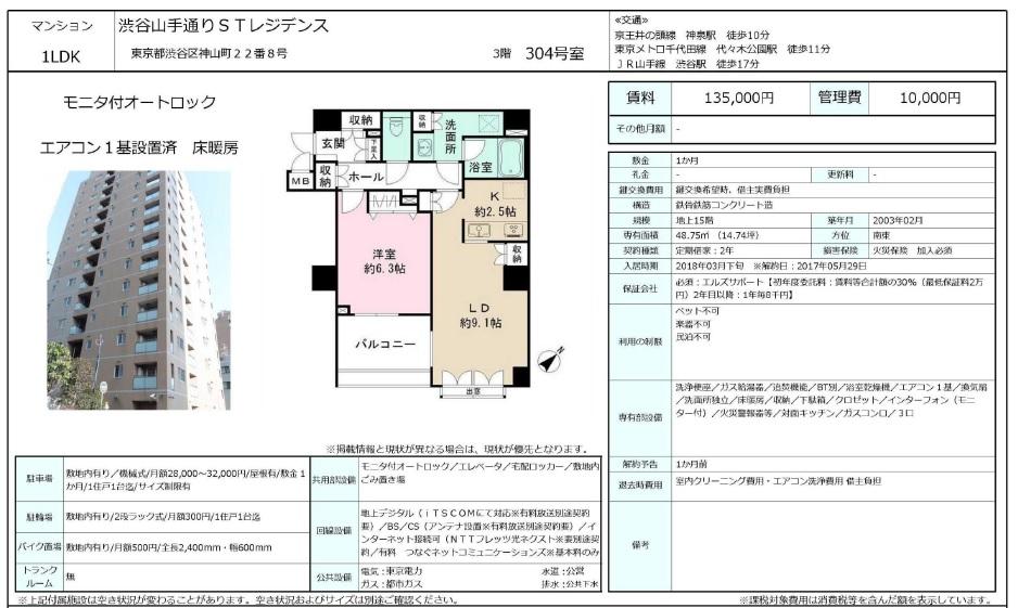 f:id:yoyogiuehararealestate:20180228122806j:plain