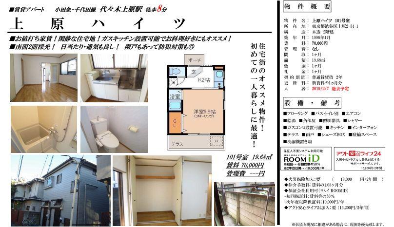 f:id:yoyogiuehararealestate:20190125120706j:plain