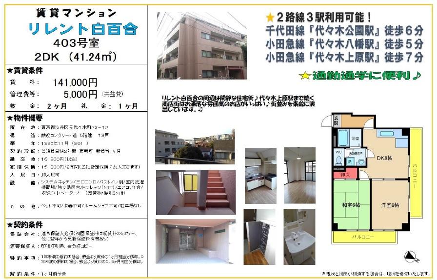 f:id:yoyogiuehararealestate:20190612114155j:plain