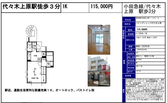 f:id:yoyogiuehararealestate:20190708102122j:plain