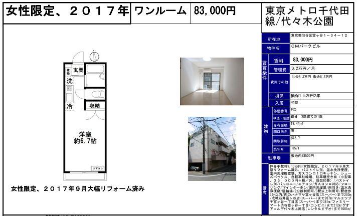 f:id:yoyogiuehararealestate:20190930100148j:plain