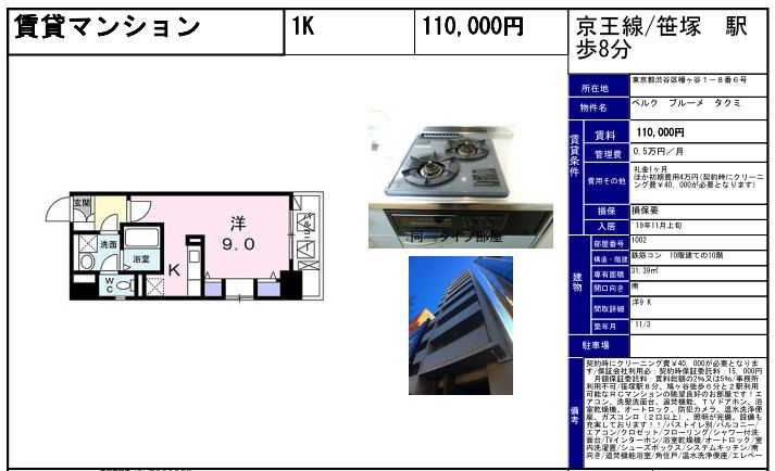 f:id:yoyogiuehararealestate:20191017102317j:plain