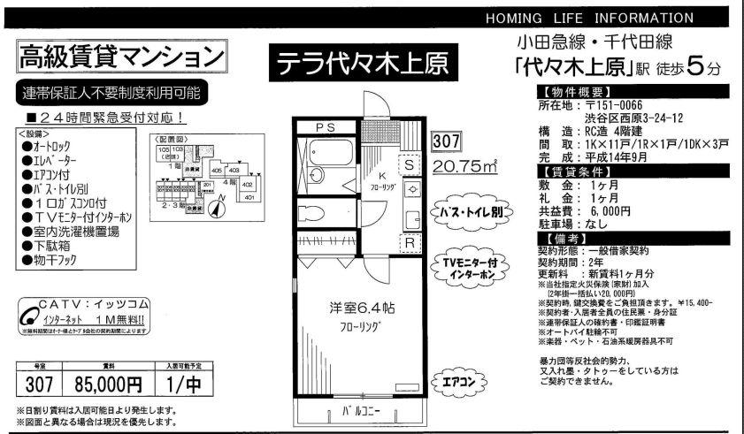 f:id:yoyogiuehararealestate:20191027102927j:plain