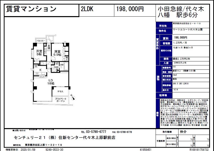 f:id:yoyogiuehararealestate:20200109102900j:plain