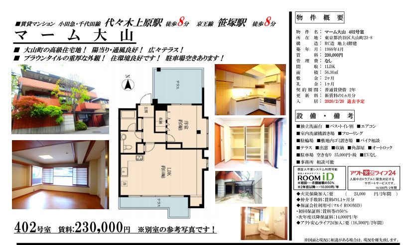 f:id:yoyogiuehararealestate:20200203100354j:plain