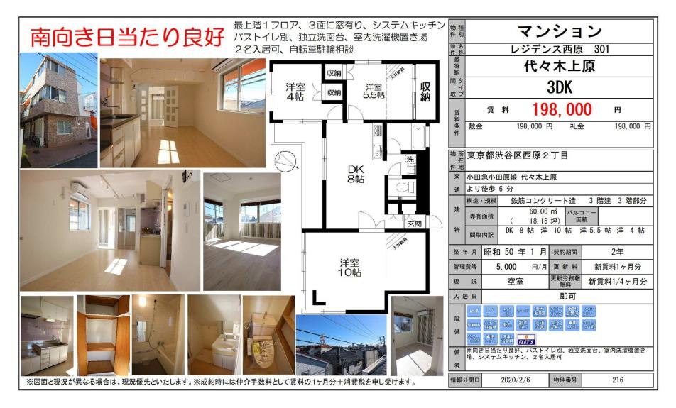 f:id:yoyogiuehararealestate:20200207110008p:plain