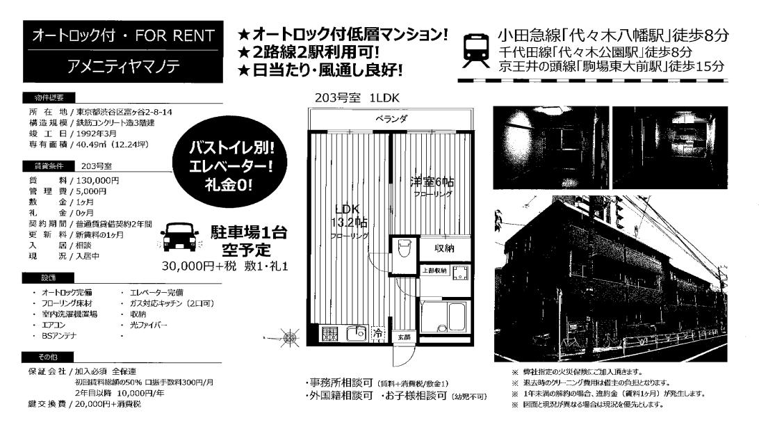 f:id:yoyogiuehararealestate:20200207112040p:plain