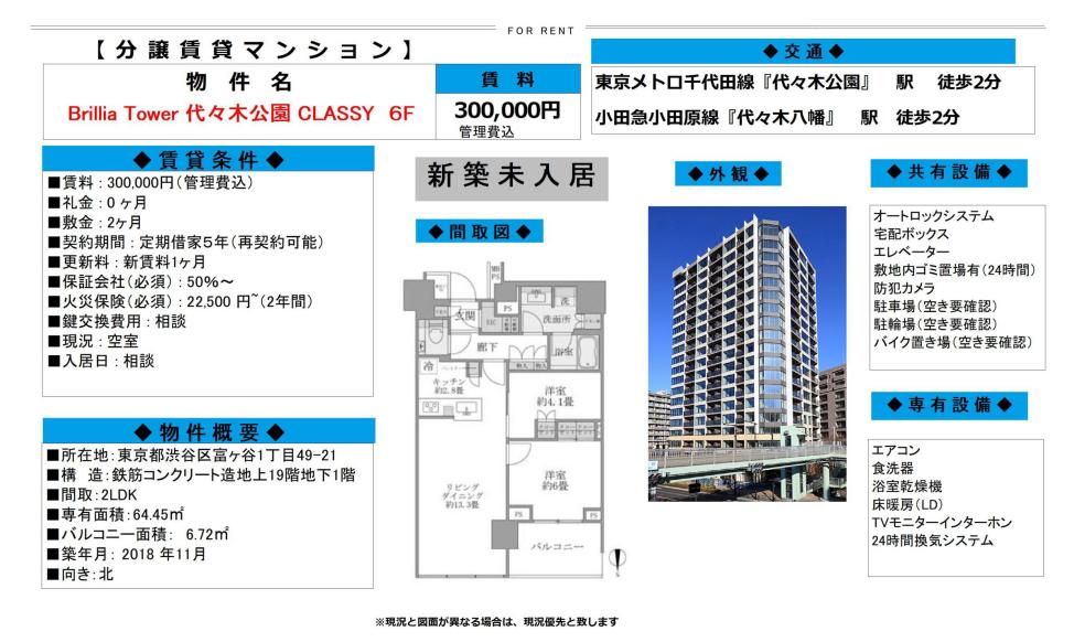 f:id:yoyogiuehararealestate:20200211120121p:plain