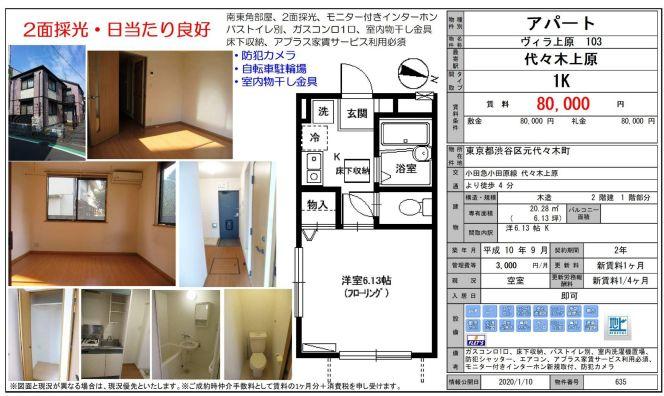 f:id:yoyogiuehararealestate:20200214110500j:plain