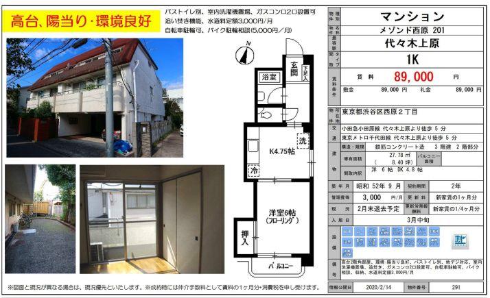 f:id:yoyogiuehararealestate:20200214110508j:plain