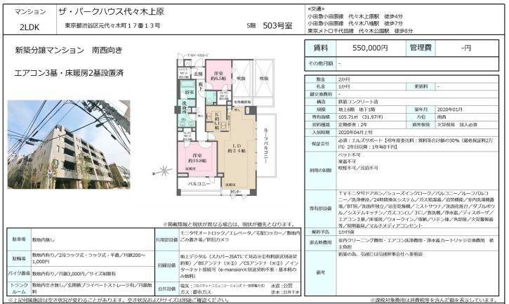 f:id:yoyogiuehararealestate:20200313112816j:plain