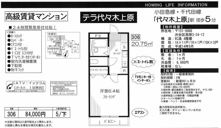 f:id:yoyogiuehararealestate:20200315101615j:plain