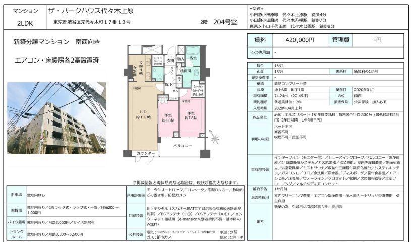 f:id:yoyogiuehararealestate:20200330095124j:plain