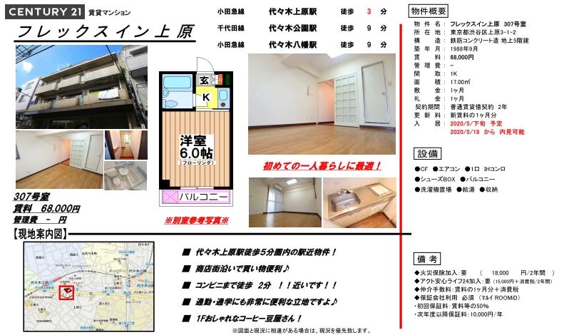 f:id:yoyogiuehararealestate:20200609101134j:plain