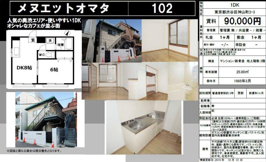 f:id:yoyogiuehararealestate:20200910100348j:plain