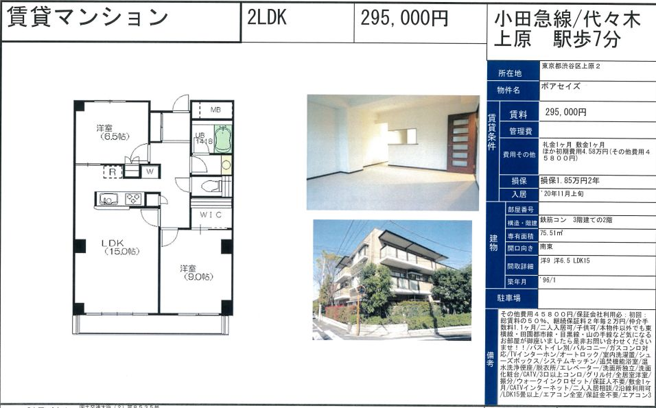 f:id:yoyogiuehararealestate:20200920110144j:plain