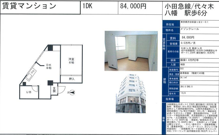 f:id:yoyogiuehararealestate:20200926103434j:plain