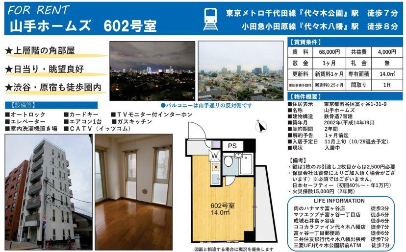 f:id:yoyogiuehararealestate:20201020200202j:plain