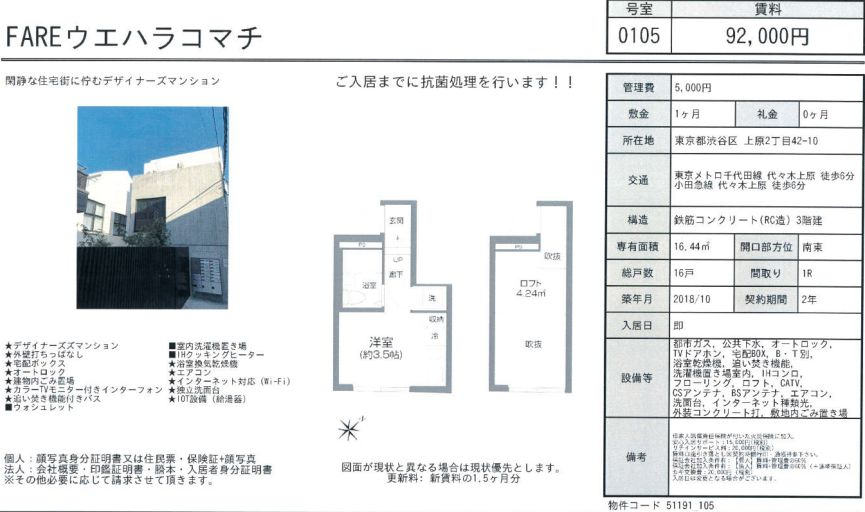 f:id:yoyogiuehararealestate:20201106104931j:plain