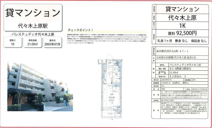 f:id:yoyogiuehararealestate:20201106113551j:plain