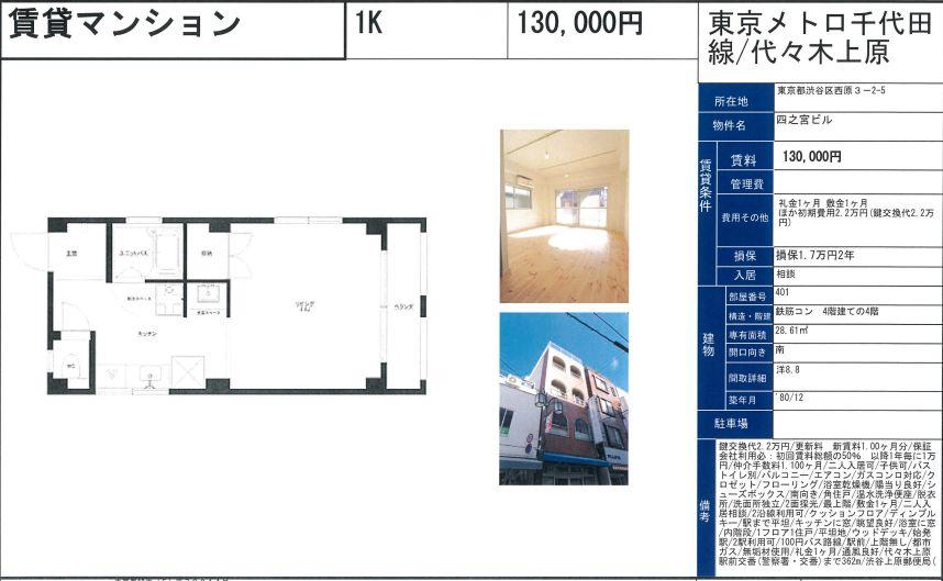 f:id:yoyogiuehararealestate:20201115102218j:plain
