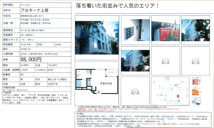 f:id:yoyogiuehararealestate:20201127110641j:plain