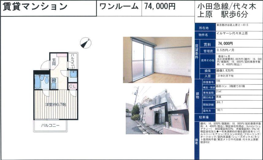 f:id:yoyogiuehararealestate:20210120121245j:plain