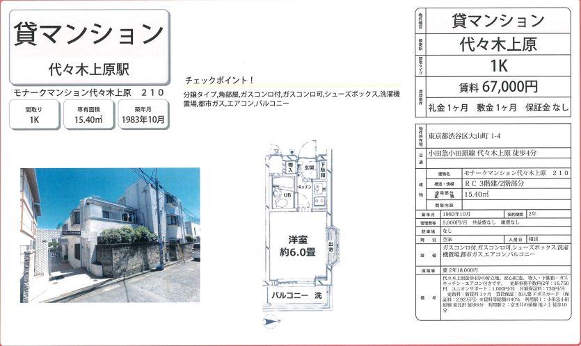 f:id:yoyogiuehararealestate:20210214100818j:plain