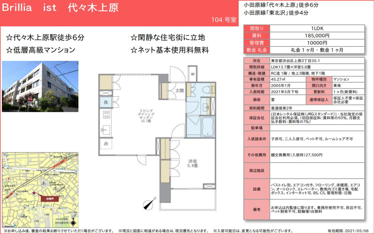 f:id:yoyogiuehararealestate:20210427092850j:plain