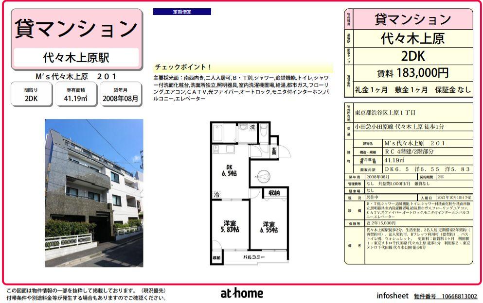 f:id:yoyogiuehararealestate:20210907100521j:plain