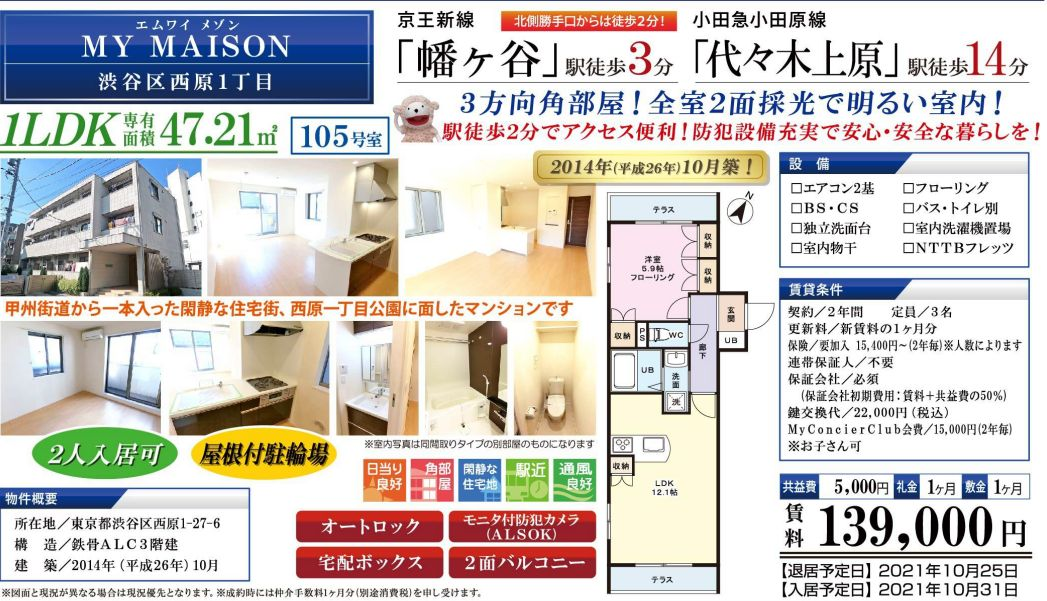 f:id:yoyogiuehararealestate:20210917104319j:plain