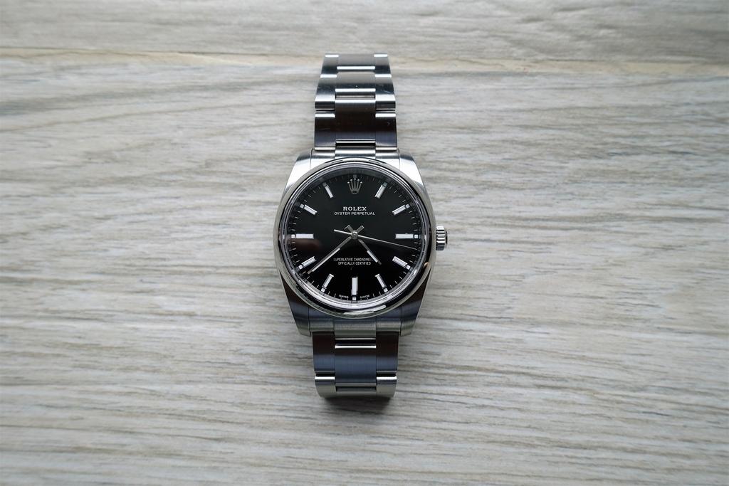 buy online bf12c 756b3 小さくても男前な万能時計:ロレックス『オイスター ...