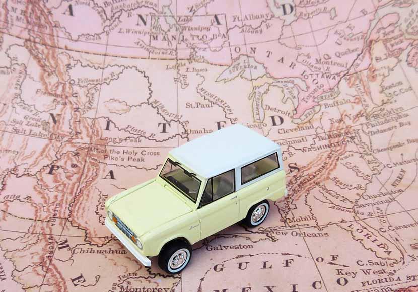 自動運転とGPSを利用した地図情報