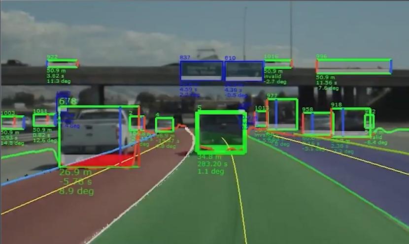 自動運転でカメラが認識する物(車両・信号・人)
