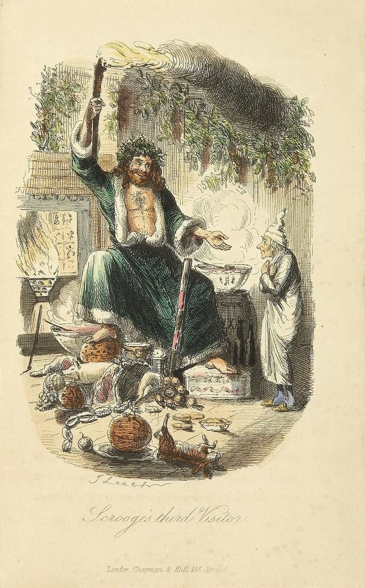 1843年のサンタクロース