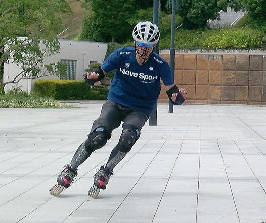 インラインスケートでもオフトレ...