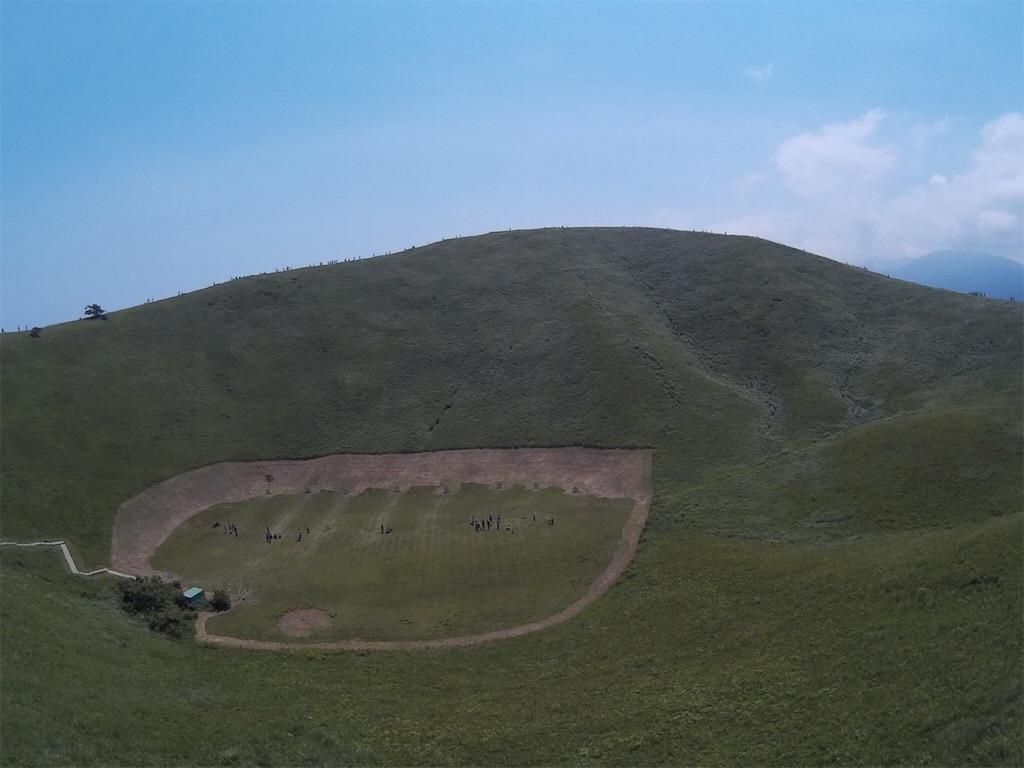 大室山全景