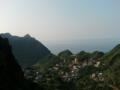 山のてっぺんからの景色