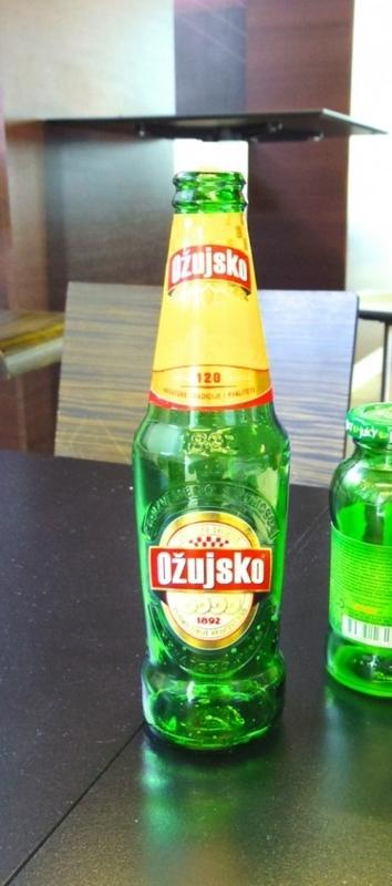 ozujskoというビール