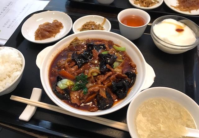 豚肉と野菜のピリ辛山椒煮込