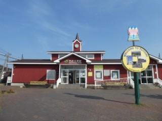 JR石狩太美駅舎写真