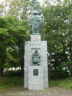 苫小牧開拓記念碑写真