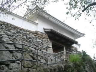 浜松城天守門写真