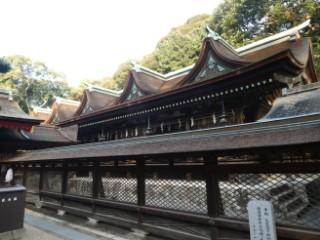 住吉神社拝殿写真