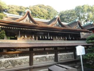 住吉神社本殿写真